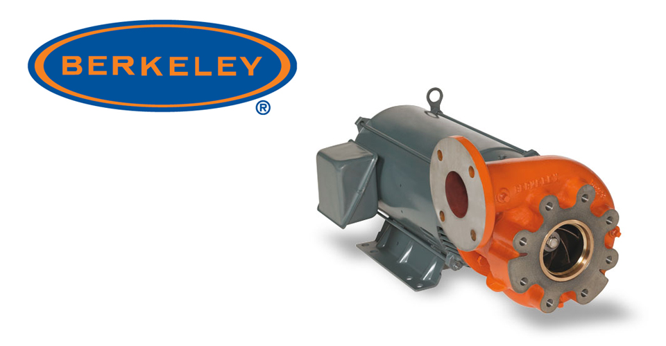 Berkeley-Close-Coupled-Motor-Driven-Pumps